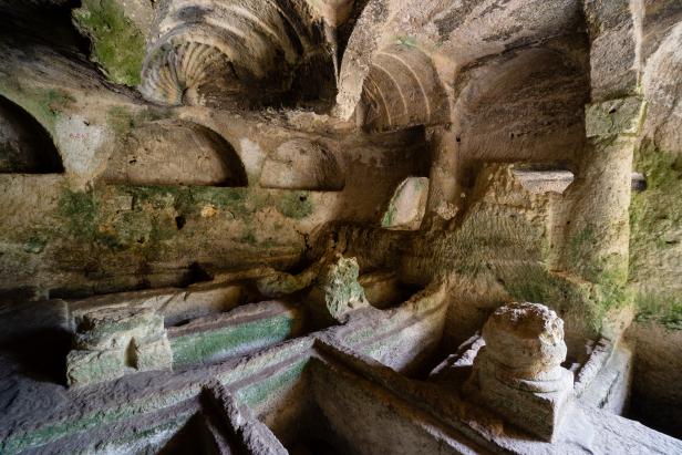 Hatay Antakya Vespasianus Titus Tunnel
