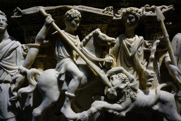 Hatay Antakya Sarcophagus detail