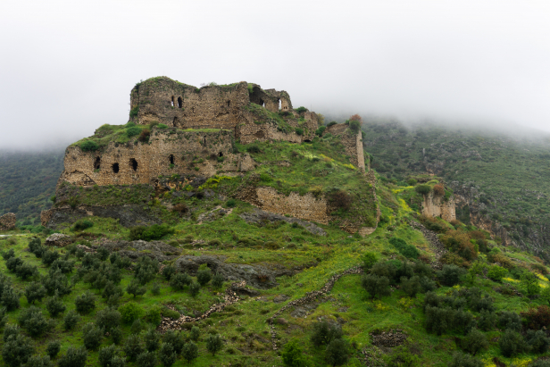 Hatay Antakya Bakras Castle