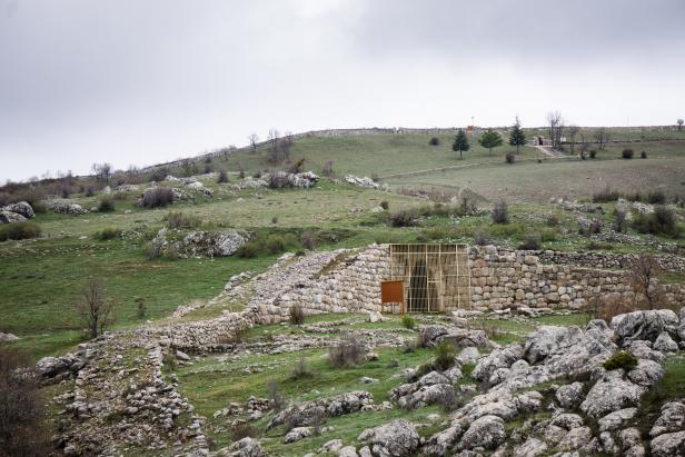 Hattusha UNESCO Chamber 2