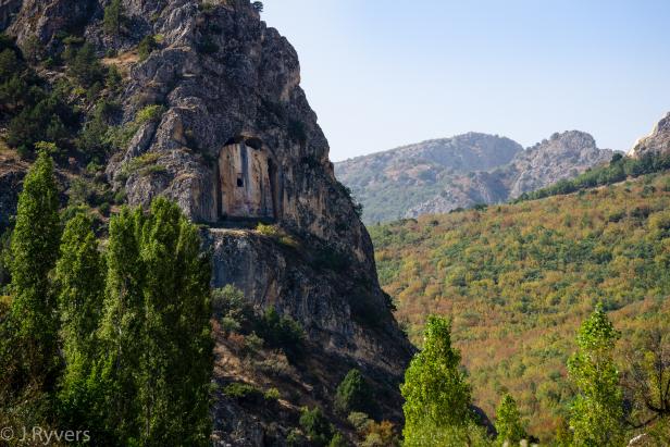 Çorum Kapılıkaya Tomb
