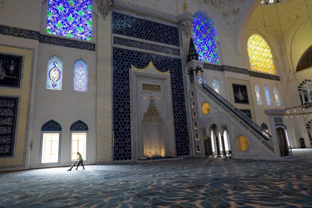 Büyük Çamlıca Mosque Turkey