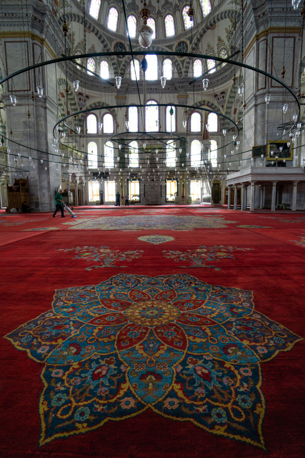 Fatih Mosque Istanbul Rug