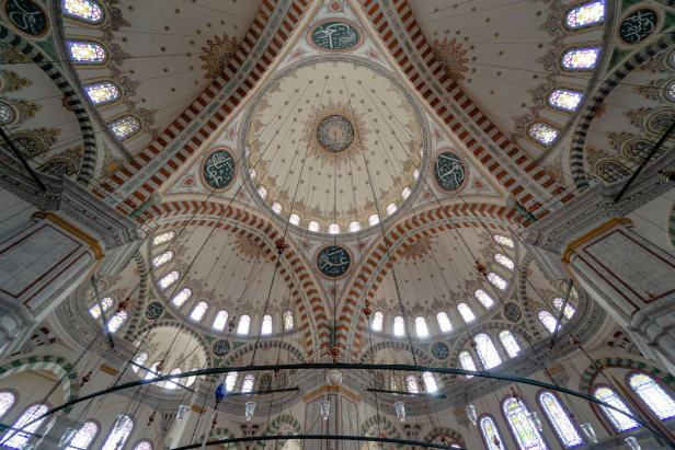 Fatih Mosque Istanbul Domes