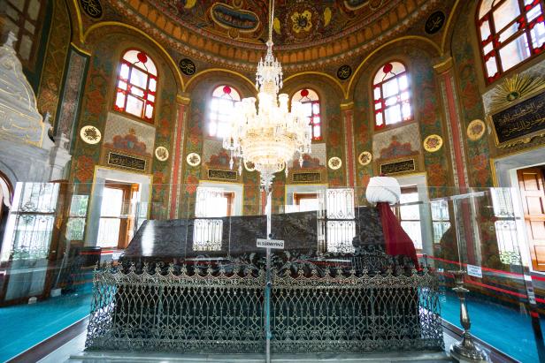 Fatih Mosque Istanbul Türbe Tomb