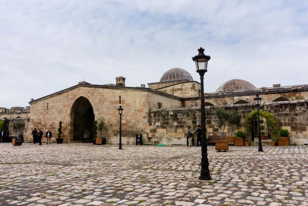 Hatay Antakya Payas Castle Caravanserai courtyard