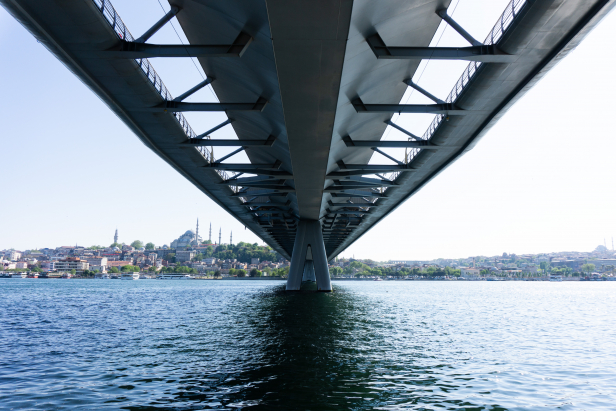 Haliç Golden Horn Metro Bridge Header