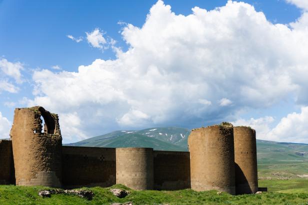 Kars Ani Ruins Restored Walls