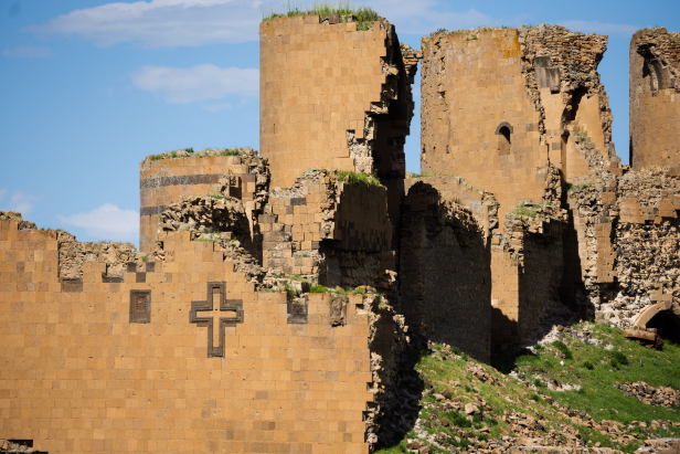 Kars Ani Ruined Walls