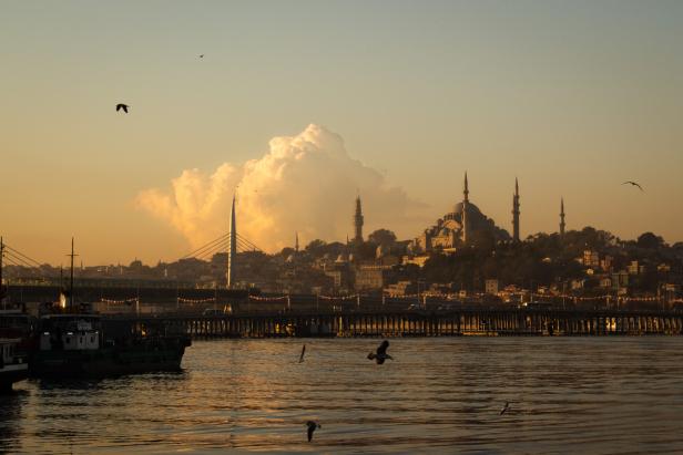 Süleymaniye Mosque Skyline