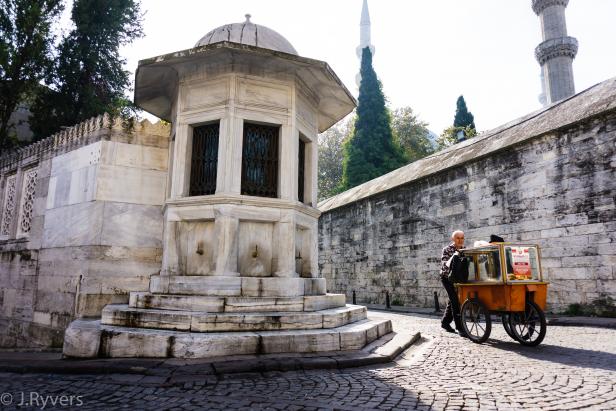 Mimar Sinan Tomb Süleymaniye