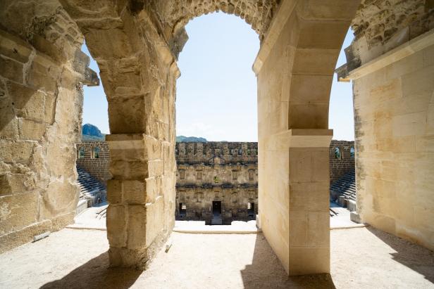Aspendos Theatre Vault