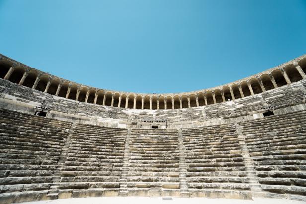 Aspendos Theatre seating
