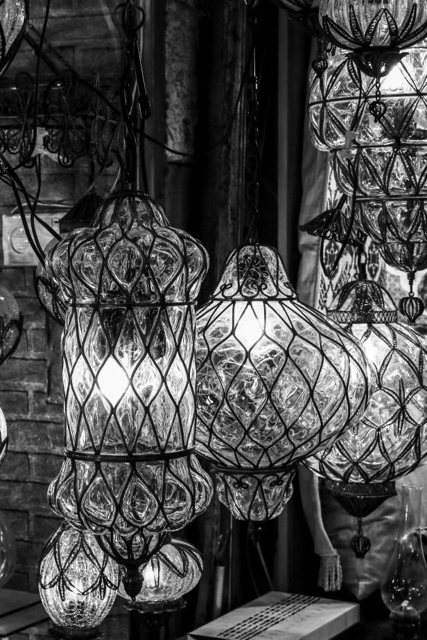 Grand Bazaar Lamps Istanbul
