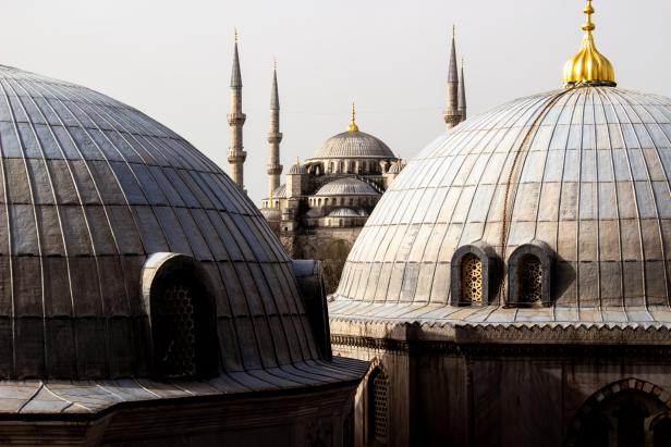 Istanbul Hagia Sophia Blue Mosque