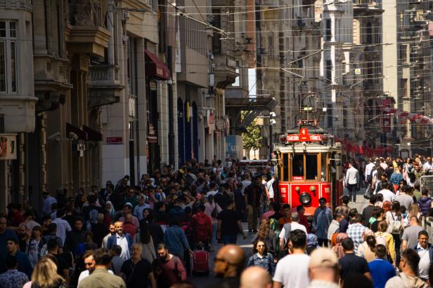 Istiklal Galata Tram