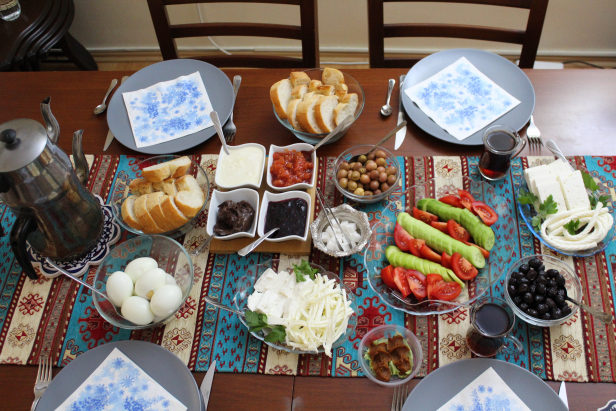 Turkish Breakfast Kahvaltı