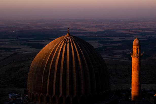 Zinciriye Madrasah Mardin Sunrise