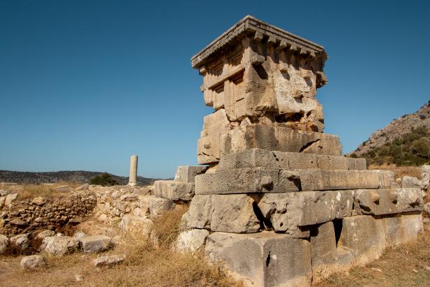 UNESCO Xanthos Letoon Tomb