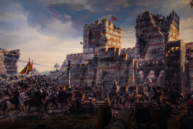 1453 Panorama Museum Mural