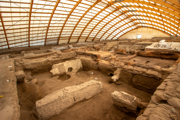 Konya Çatalhöyük Covered Dig