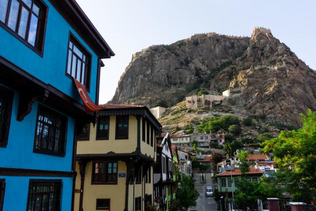 Afyon old city Castle